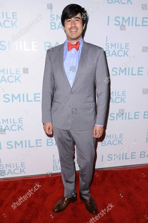 "Daniel Hammond attends the LA Premiere of ""I Smile Back"" held at ArcLight Hollywood, in Los Angeles"