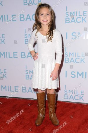 """Stock Picture of Shayne Coleman attends the LA Premiere of """"I Smile Back"""" held at ArcLight Hollywood, in Los Angeles"""