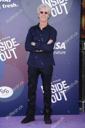 """Stewart Copeland arrives at the LA Premiere Of """"Inside Out"""" held at the El Capitan Theatre, in Los Angeles"""
