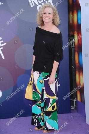 "Meg LeFauve arrives at the LA Premiere Of ""Inside Out"" held at the El Capitan Theatre, in Los Angeles"