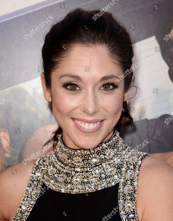 "Stock Picture of Jessica Luza arrives at the Los Angeles premiere of ""Let's Be Cops"" at the Cinerama Dome on"