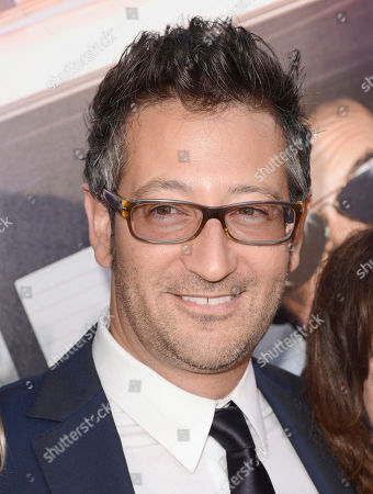 Writer/director Luke Greenfield arrives at the Los Angeles premiere of 'Let's Be Cops' at the Cinerama Dome on