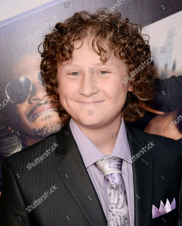 """Stock Image of Joshua Ormond arrives at the Los Angeles premiere of """"Let's Be Cops"""" at the Cinerama Dome on"""