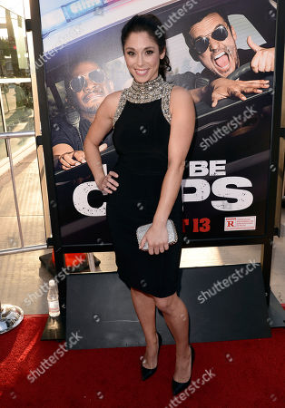 "Editorial picture of LA Premiere of ""Let's Be Cops"" - Red Carpet, Los Angeles, USA - 7 Aug 2014"