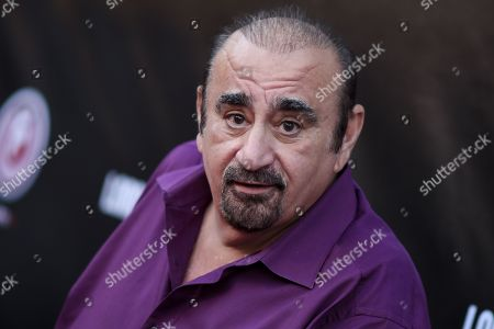 """Ken Davitian arrives at the LA Premiere of """"Lord of the Freaks"""", in Los Angeles"""