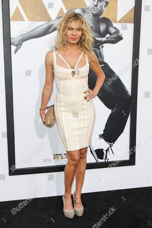 """Katarzyna Wolejnio arrives at the Los Angeles premiere of """"Magic Mike XXL"""" at the TCL Chinese Theatre on"""
