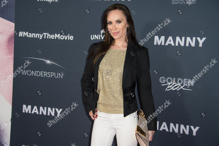 """Stock Photo of Yulia Klass attends the Los Angeles Premiere of """"Manny"""" at the TCL Chinese Theatre, in Los Angeles"""