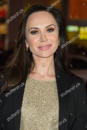 """Yulia Klass attends the Los Angeles Premiere of """"Manny"""" at the TCL Chinese Theatre, in Los Angeles"""