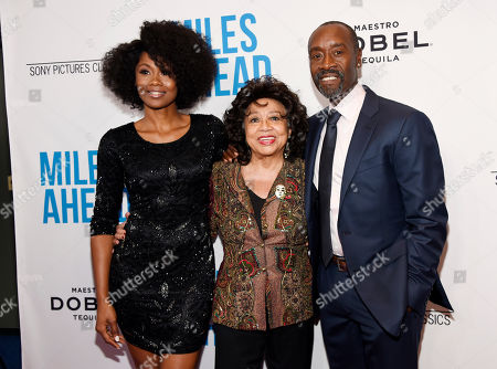 """Editorial image of LA Premiere of """"Miles Ahead"""" - Arrivals, Beverly Hills, USA - 29 Mar 2016"""