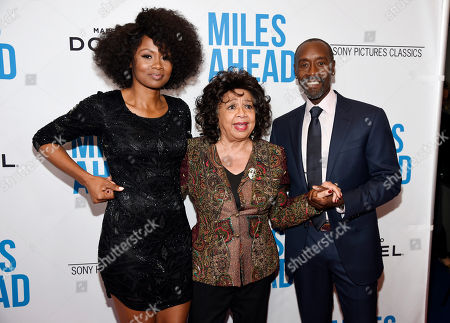 """Editorial photo of LA Premiere of """"Miles Ahead"""" - Arrivals, Beverly Hills, USA - 29 Mar 2016"""