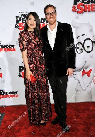 """Editorial picture of LA Premiere of """"Mr. Peabody & Sherman"""" - Arrivals, Los Angeles, USA - 5 Mar 2014"""