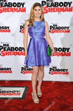 "Editorial photo of LA Premiere of ""Mr. Peabody & Sherman"" - Arrivals, Los Angeles, USA - 5 Mar 2014"