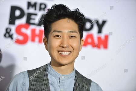 "Tim Jo arrives at the LA Premiere of ""Mr. Peabody & Sherman"" on in Los Angeles"