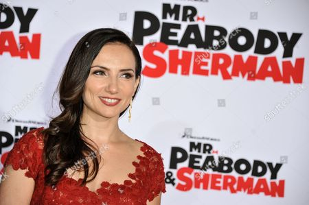 """Leila Birch arrives at the LA Premiere of """"Mr. Peabody & Sherman"""" on in Los Angeles"""
