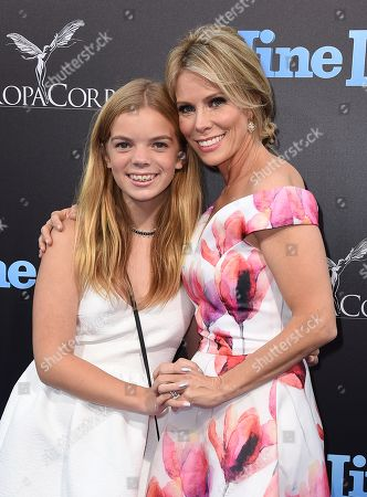 "Cheryl Hines and Catherine Rose Young arrive at the LA premiere of ""Nine Lives"" at TCL Chinese Theatre, in Los Angeles"