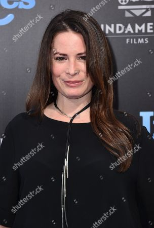 """Holly Marie Combs arrives at the LA premiere of """"Nine Lives"""" at TCL Chinese Theatre, in Los Angeles"""