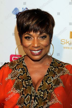 """TV personality and actress Rolonda Watts seen at LA Premiere of """"Sister Code"""" at Universal Theaters AMC, in Universal City, California"""