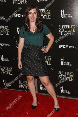 """Heather Matarazzo attends the premiere of """"Sleeping with Other People"""" at Arclight Hollywood on in Los Angeles"""