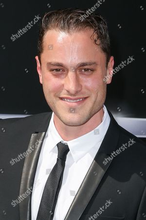 "Stock Image of Kyle Clements arrives at the LA Premiere of ""Terminator Genisys"" at the Dolby Theatre, in Los Angeles"