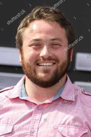 """Joe P. Harris arrives at the LA Premiere of """"Terminator Genisys"""" at the Dolby Theatre, in Los Angeles"""