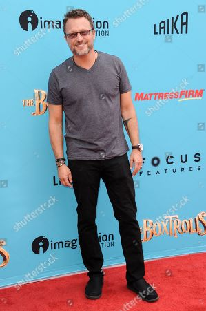 "Steve Blum arrives at the LA Premiere of ""The Boxtrolls"", in Universal City, Calif"