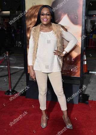 """Mya Taylor arrives at the premiere of """"The Danish Girl"""" at Regency Village Theatre on in Los Angeles"""