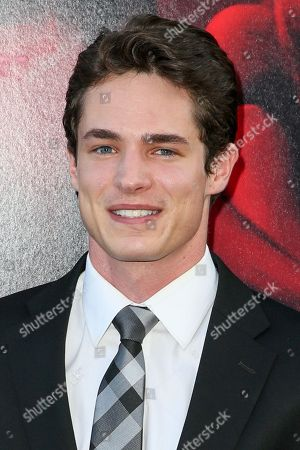 """Reese Mishler arrives at the LA Premiere of """"The Gallows"""" at Hollywood High School on in Los Angeles"""