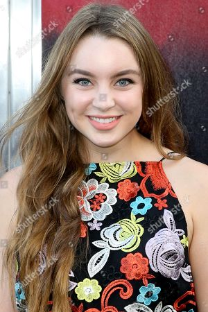 "Alexa Losey arrives at the LA Premiere of ""The Gallows"" at Hollywood High School on in Los Angeles"