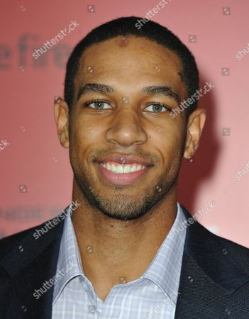 """Xavier Henry arrives at the Los Angeles premiere of """"The Hunger Games: Catching Fire"""" at Nokia Theatre LA Live on"""