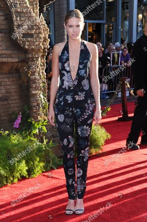 """Cody Horn arrives at the premiere of """"The Jungle Book"""" at the El Capitan Theatre, in Los Angeles"""