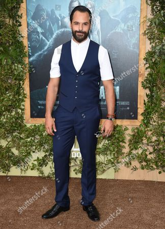 """Casper Crump arrives at the Los Angeles premiere of """"The Legend of Tarzan"""" at the Dolby Theatre on"""