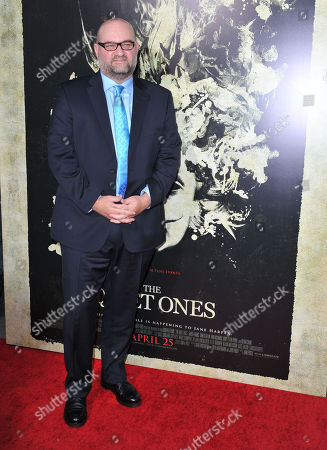 John Pogue seen at the LA premiere of The Quiet Ones at Ace Hotel, in Los Angeles, CA