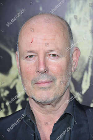 Simon Oakes seen at the LA premiere of The Quiet Ones at Ace Hotel, in Los Angeles, CA