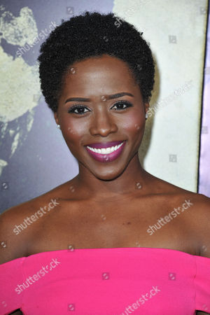Sola Bamis seen at the LA premiere of The Quiet Ones at Ace Hotel, in Los Angeles, CA