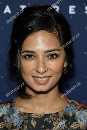 """Aarti Mann arrives at the LA Premiere Of """"The Theory Of Everything"""", in Beverly Hills, Calif"""