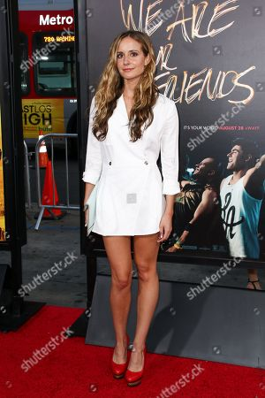 """Co-Writer Meaghan Oppenheimer attends the LA Premiere of """"We Are Your Friends"""" held at TCL Chinese Theatre, in Los Angeles"""