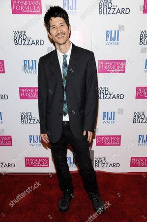 "Gregg Araki arrives at the LA Premiere of ""White Bird In A Blizzard"", in Los Angeles"
