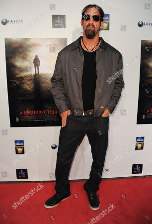 """Stock Photo of Matthew Willig arrives at the LA premiere of """"A Resurrection"""" at the ArcLight Cinemas on in Los Angeles"""