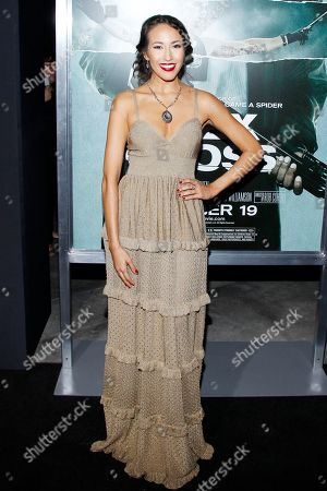 """Actress Marisa Quinn attends the LA premiere of """"Alex Cross"""" at the ArcLight Cinerama dome on in Los Angeles"""