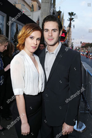 """Stock Photo of Rumer Willis and Micah Alberti at the LA Premiere of """"G.I. Joe: Retaliation"""" held at the TCL Chinese Theatre on in Los Angeles"""
