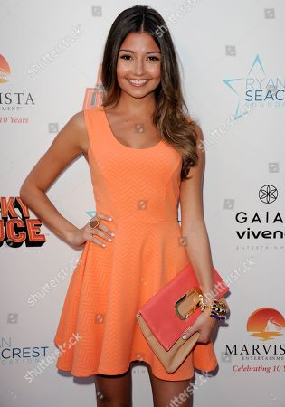 "Cristine Prosperi arrives at the LA premiere of ""Nicky Deuce"" at the ArcLight Hollywood on in Los Angeles"