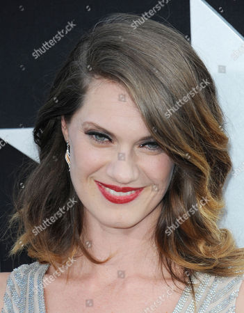 """Heather Doerksen arrives at the LA premiere of """"Pacific Rim"""" at the Dolby Theater on in Los Angeles"""