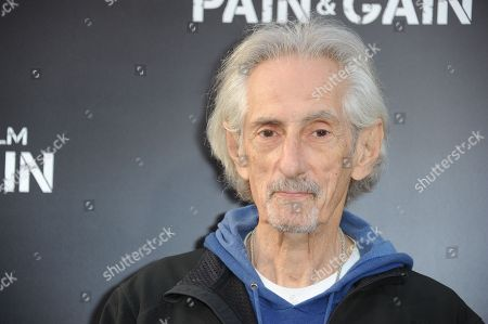 """Larry Hankin arrives at the LA Premiere of """"Pain and Gain"""" at the TCL Theatre on in Hollywood, Calif"""