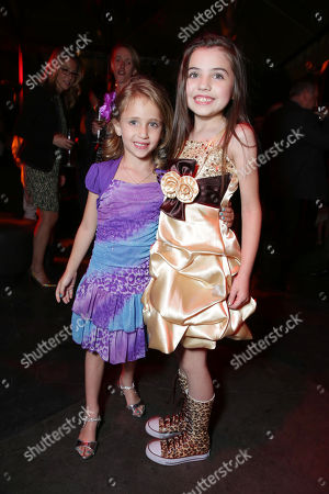 Ava Kolker and Gracie Whitton at the LA Premiere of Scary Movie V at the Cinerama Dome on in Los Angeles