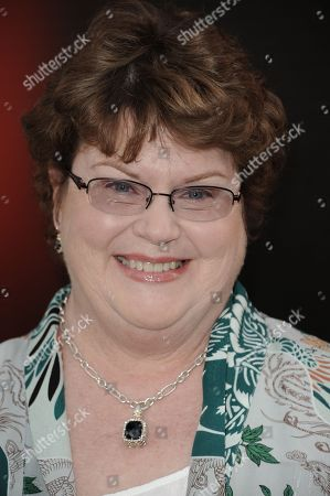 """Charlaine Harris arrives at the LA premiere of season 6 of """"True Blood"""" at The Cinerama Dome on in Los Angeles"""