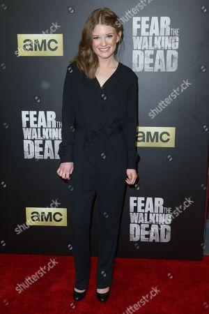 "Editorial photo of LA Premiere of Season Two ""Fear the Walking Dead"" - Arrivals, Los Angeles, USA - 29 Mar 2016"