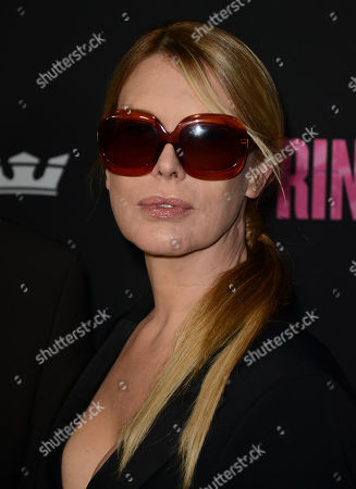 "Deborah Kara Unger arrives at the LA premiere of ""Spring Breakers"" at the ArcLight Hollywood on in Los Angeles"