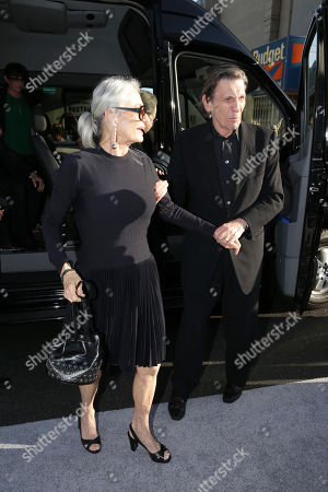 """Susan Bay and husband Leonard Nimoy arrive at the LA premiere of """"Star Trek Into Darkness"""" at The Dolby Theater on in Los Angeles"""