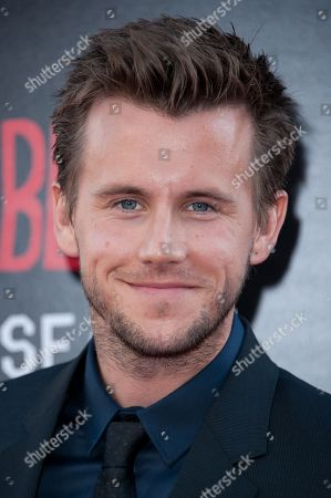 "Stock Image of Brett Lorenzini arrives at the Los Angeles premiere of the 7th and final season of ""True Blood"" at the TCL Chinese Theatre on"