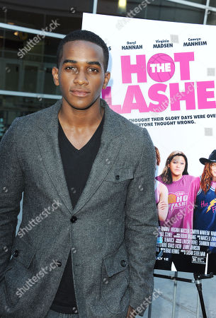 "Patrick Cage II arrives at the LA premiere of ""The Hot Flashes"" at the ArcLight Hollywood on in Los Angeles"